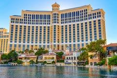 Main street of Las Vegas is the Strip. Casino, hotel and resort Bellagio. Las Vegas, Nevada, USA - September 15, 2018: Main street of Las Vegas is the Strip royalty free stock photos