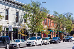 Main street Royalty Free Stock Images