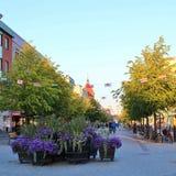Main Street in Luleå Stock Photo