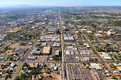 Main Street -MESA, Arizona stockbilder