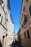 Main street of Mondovi Royalty Free Stock Images