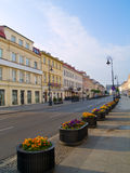Main street (Novy Swiat), Warsaw Stock Photos