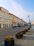 Main street (Novy Swiat), Warsaw Stock Photos