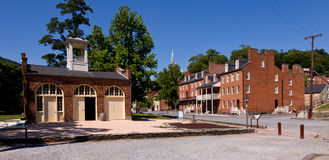 Main Street Of Harpers Ferry A National Park Royalty Free Stock Images