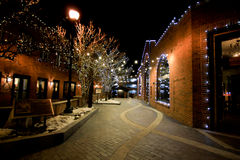 Main Street Park City, Utah Stock Photography