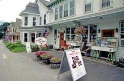 Main Street shops Stock Photo