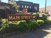 Main street Temecula California Stock Photos
