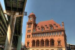 Main Street Train Station Stock Image
