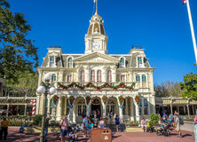 Main Street USA, Magic Kingdom Royalty Free Stock Image