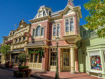 Main Street USA, Magic Kingdom Royalty Free Stock Photos