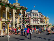 Main Street USA, Magic Kingdom Royalty Free Stock Photography