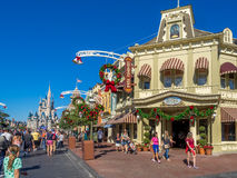 Main Street USA, Magic Kingdom royalty free stock images