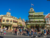 Main Street USA, Magic Kingdom Stock Image
