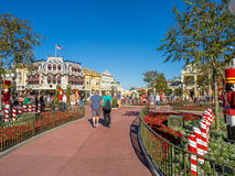 Main Street USA, Magic Kingdom Stock Photography