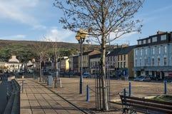 Main Street van Bantry in Provincie Cork Ireland stock foto's