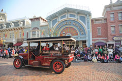 Main Street vehicles of hong kong Disney Stock Photography