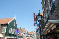 Main street in Volendam Royalty Free Stock Image