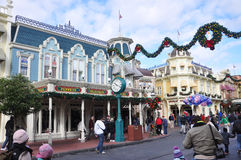 Main Street of Walt Disney World stock image