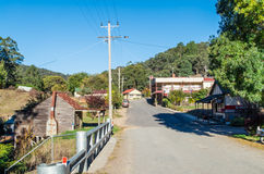 Main street of Woods Point, Australia Royalty Free Stock Images