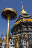 Wat Phra That Lampang Luang - Thailand Royalty Free Stock Photography
