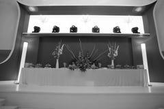Main table Stock Photo