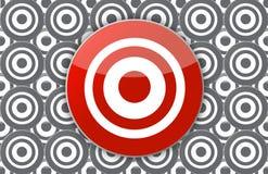 Main target Royalty Free Stock Photos