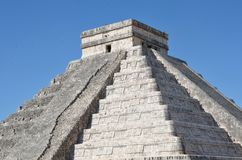 Main Temple at Chichen Itza Royalty Free Stock Photography