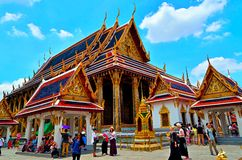 The main temple of the Emerald Buddha Stock Images