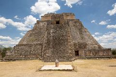 The main temple at Uxmal Royalty Free Stock Photography