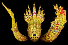 The main three of royal barge over 200 years Royalty Free Stock Photos