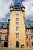 Main tower of castle. Castle johannisburg (1614) in aschaffenburg, germany Stock Image