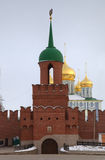 Main tower and entrance of Kremlin. Royalty Free Stock Photos