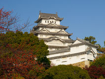 Main tower of Himeji castle Royalty Free Stock Images