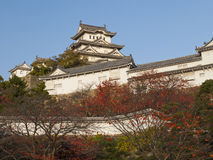 Main tower of Himeji castle Stock Photos
