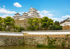 Main tower of the Himeji Castle in Japan Stock Photos