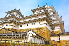 Main tower of the Himeji Castle in Japan Stock Image