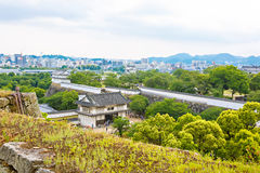 Main tower of the Himeji Castle in Japan Royalty Free Stock Image