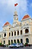 Main tower of Ho Chi Minh City Hall, VietNam Royalty Free Stock Photo