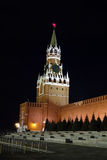 The main tower of the Kremlin. Moscow Stock Images