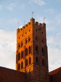 The Main tower of Malbork castle Royalty Free Stock Photos