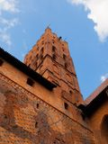 The Main tower of Malbork castle Stock Images