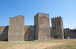Main tower of the Medieval fortress  in Smederevo Stock Photos
