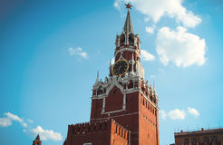 Main tower of Moscow Kremlin Royalty Free Stock Images