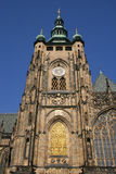 Main tower of Prague Cathedral Royalty Free Stock Photos