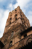 The main tower of the upper castle Stock Image