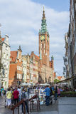 Main Town Hall of Gdansk Royalty Free Stock Photography