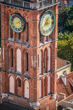 The Main Town Hall of Gdansk, Poland Stock Images