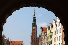 The Main Town Hall - Gdansk, Poland. Royalty Free Stock Photography