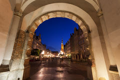 Main Town Hall in Gdansk, Poland Stock Photography