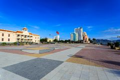 Main Town Square In Nha Trang, Vietnam Stock Photos